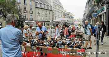 Dinan - Les commerçants de Dinan tentent une braderie en contexte Covid - Le Télégramme