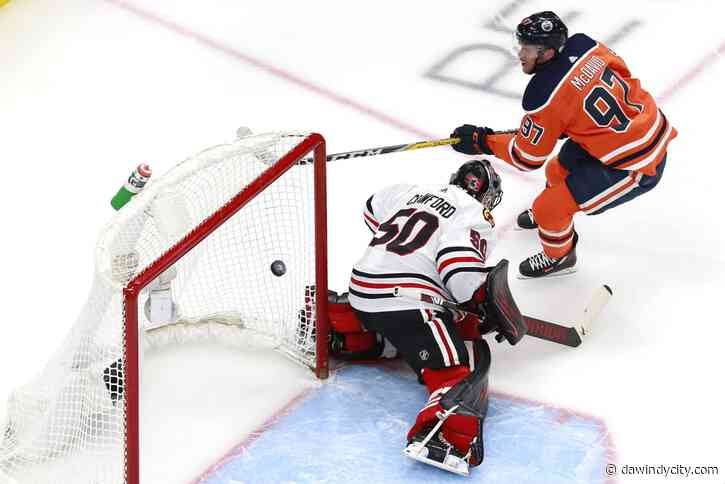 Chicago Blackhawks: Connor McDavid's hat trick sinks team