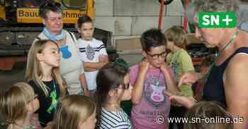 Luhden: Kinder zu Besuch auf dem Hof Tecklenburg - Schaumburger Nachrichten