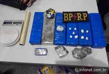 PM apreende 5kg de maconha durante ronda em N. Sra. do Socorro - Infonet