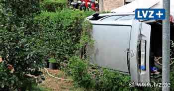 Schwerer Unfall in Brandis: Opel durchbricht Gartenzaun - Leipziger Volkszeitung