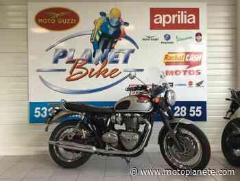 Triumph Bonneville T120 2017 à 8790€ sur MAYENNE - Occasion - Motoplanete