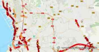 Trafic - Marseille : la L2 rouverte dans les deux sens, le trafic toujours saturé sur Sakakini et aux entrées de la ville - La Provence