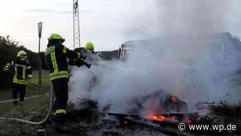 Wilnsdorf: Feuerwehr verhindert lebensgefährlichen Brand - Westfalenpost