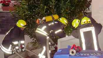 Wilnsdorf: Schneller Feuerwehreinsatz verhindert Zimmerbrand - Westfalenpost