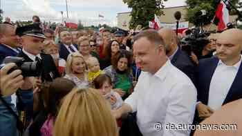 Oberstes Gericht entscheidet für Andrzej Duda - Euronews