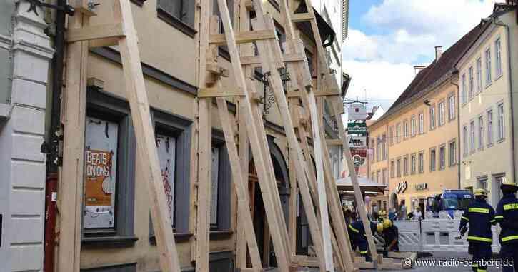 Sicherungsarbeiten in der Oberen Sandstraße verzögern sich