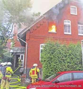 Alle Bewohner verließen das Haus rechtzeitig: Küchenbrand in Stade breitet sich auf Dachstuhl aus - Kreiszeitung Wochenblatt