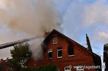 Wohnhaus in Stade steht in Flammen - Blaulicht - Tageblatt-online