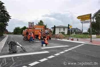 Die Baustelle auf der L 123 zieht weiter - TAGEBLATT: Nachrichten aus Stade, Buxtehude und der Region - Tageblatt-online