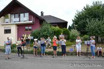 Familien-Ensemble macht Sommerpause: 21 Mal Corona-Konzerte in Neibsheim - Bretten - kraichgau.news
