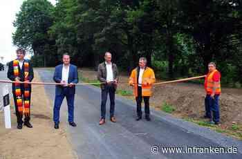 Radweg zwischen Lösau und Kirchleus freigegeben