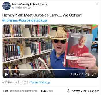 Curbside Larry is not a pitchman. He's a literacy hero