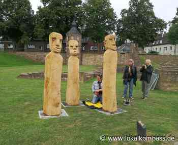 Aufbau der achten Ausstellung ist erfolgt: Freude im Reeser Skulpturenpark - Lokalkompass.de