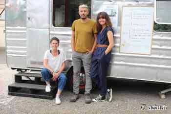 Oise. A Chaumont-en-Vexin, une caravane fait escale pour réfléchir sur la place des médias - L'Impartial