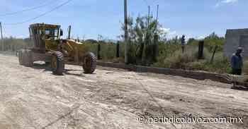 Avanza infraestructura en San Buenaventura - Periódico La Voz