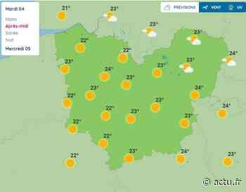 La météo de ce mardi 4 août 2020 à Pont-Audemer - actu.fr