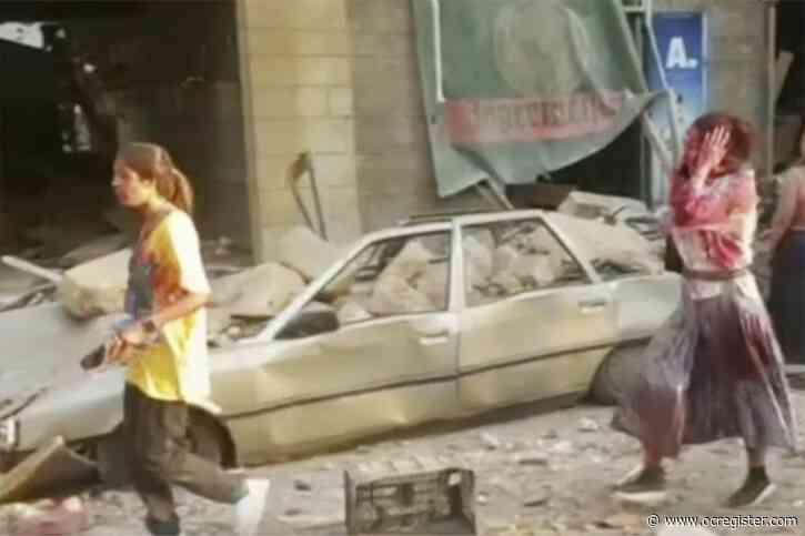 Massive explosion shakes Lebanon's capital Beirut