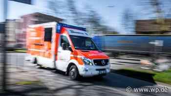 Drolshagen: Rollerfahrer (17) kollidiert mit Schutzplanke - Westfalenpost