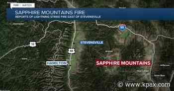 Wildfire near Stevensville contained - KPAX-TV