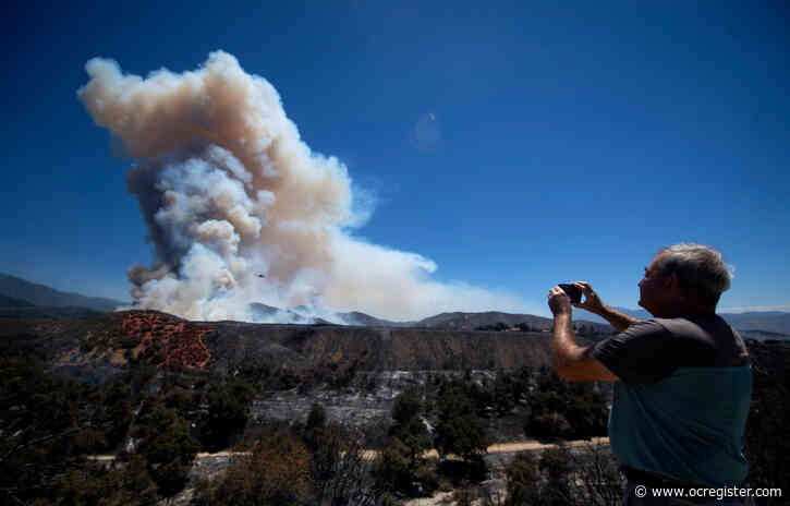 Apple fire evacuations remain in place, 12 structures destroyed