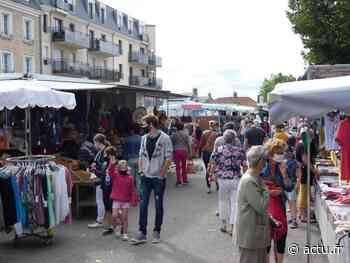 Sur le marché, le port du masque est obligatoire à Carentan - actu.fr