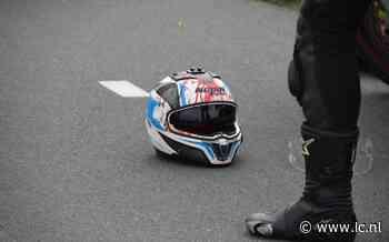 Buizerd vliegt tegen helm van motorrijder bij Lauwersoog - Leeuwarder Courant
