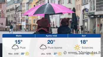 Météo Mulhouse: Prévisions du mardi 4 août 2020 - 20minutes.fr