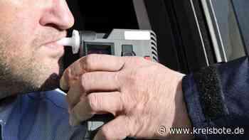 Polizei zieht Betrunkenen bei Peiting aus dem Verkehr: Schlangenlinien auf der B 23 - Kreisbote