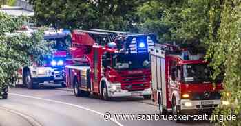 Feuerwehr und DLRG sucht Vermissten in Saar nach badeunfall in Saarlouis - Saarbrücker Zeitung