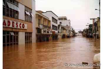 Nos anos 80, pior enchente da história de Brusque motivou a construção da avenida Beira Rio - O Munícipio