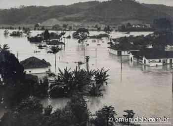 Em 1961, enchente matou três pessoas e destruiu a cidade de Brusque - O Munícipio