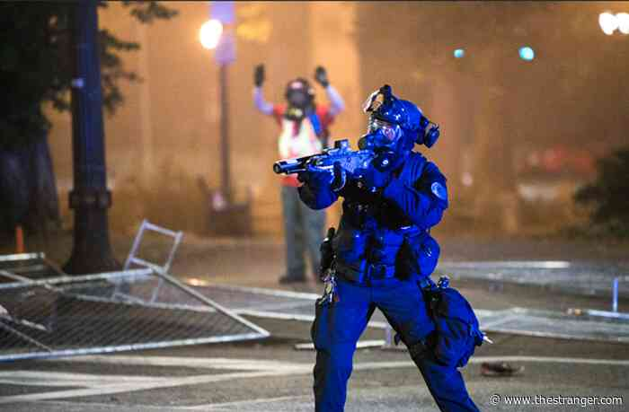 """Officers' Reliance on """"Less Lethal"""" Munitions Leave Portlanders With Lasting Head Injuries"""