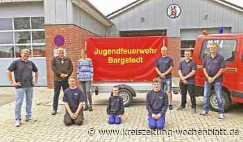 Spendenübergabe: Warmer Geldregen für die Jugendfeuerwehr in Bargstedt - Kreiszeitung Wochenblatt
