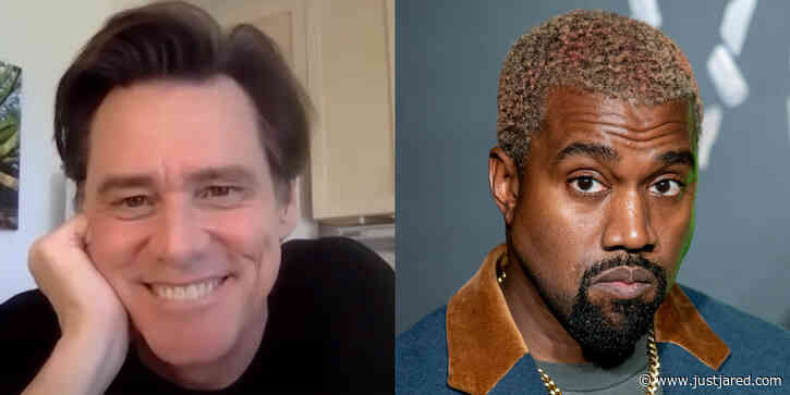 Jim Carrey Talks About The Kanye West In His New Book: 'He's One Of The Great Characters of Our Zeitgeist'