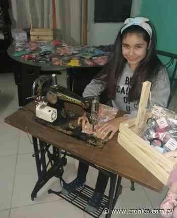 Dulce la peque emprendedora de 11 añitos - Crónica.com.py