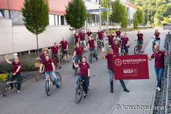 Erfolgreich beim Stadtradeln für Bretten: Zweiter Platz für Richard Wolf GmbH - Bretten - kraichgau.news