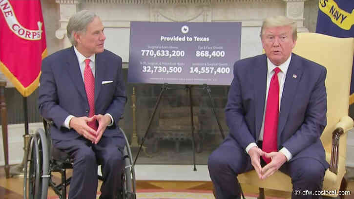 Texas Widow Blames President Trump, Gov. Abbott In Husband's Obituary For Coronavirus Death: 'Shame On All Of You'