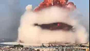 Pilzwolkige Riesen-Explosion im Libanon, zahlreiche Verletzte und Tote