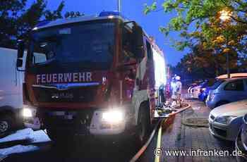 Garagenbrand in Poppenhausen: Mehrere Verletzte, ein Mensch wird vermisst