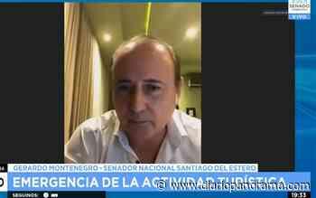 Gerardo Montenegro habló sobre el proyecto de sostenimiento turístico - Diario Panorama de Santiago del Estero