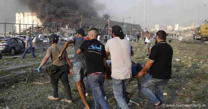 Dutzende Tote und 2700 Verletzte bei Explosion in Beirut