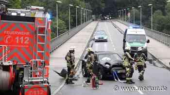 Pullach: Unfall auf Grünwalder Brücke - Merkur.de