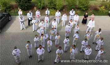 Gürtelprüfung im Taekwondo Lehr- und Leistungszentrum - Mittelbayerische