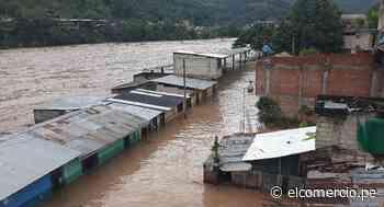 Junín: desborde del río Perené inunda 300 viviendas y amenaza colapsar puente - El Comercio