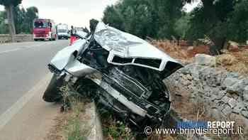 Con l'auto contro l'albero sulla provinciale, ferito il conducente - BrindisiReport