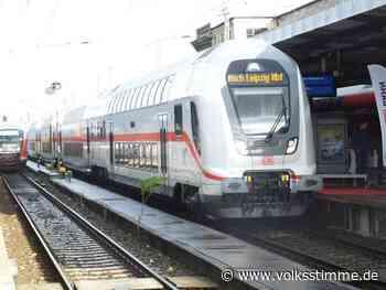 Deutsche Bahn: Magdeburg träumt vom Schnellzug - Volksstimme