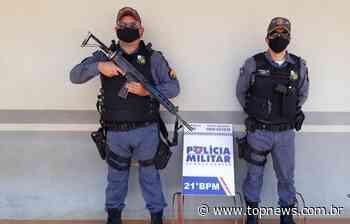 Dois homens de Juina foram presos pela patrulha rural acusados de furtarem 02 residências em Juara - topnews