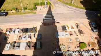 EN IMAGES. Près de Bernay, reportage du haut de l'église Notre-Dame à Chamblac - Paris-Normandie
