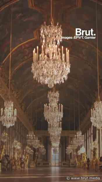 3 lieux secrets du château de Versailles - Brut.